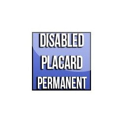 Disabled Placard Permanent
