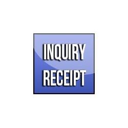 Inquiry Receipt