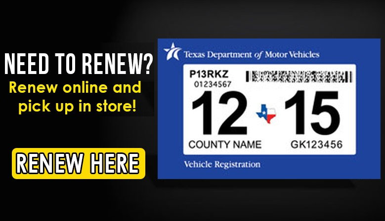 McAllen License and Registration